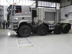 INGTOP METAL, s.r.o. delivered 4 tailored service pits to TATRA TRUCKS a.s. at a record time